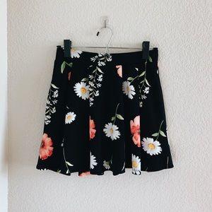 🌻 Floral Skater Skirt
